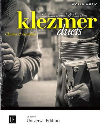 Klezmer Duets for Clarinet & Accordion