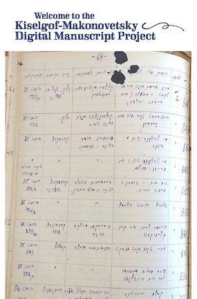KMDMP klezmer manuscripts collection