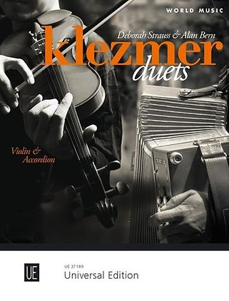 Klezmer Duets for Violin & Accordion