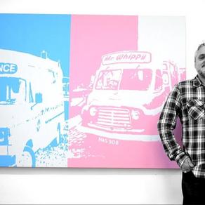 Interviewing the Artist - Mark Halsey