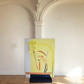 'Expanding the Field of Painting' -Sasha Napoli