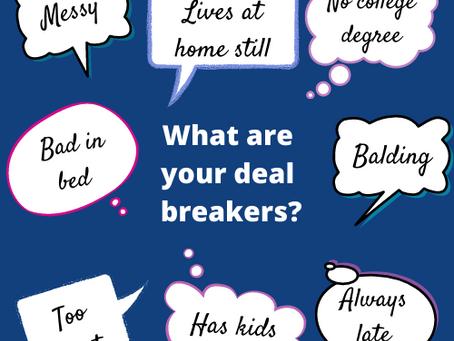 Let's Talk Deal-breakers