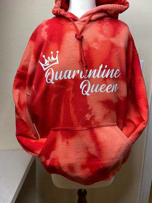Tye Dye Quarantine Queen Hoodie