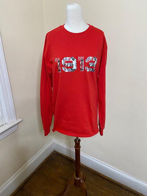 1913 Camo Long Sleeve Tshirt