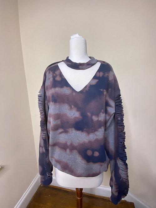 Camille Tye - Dye Distressed Sweatshirt