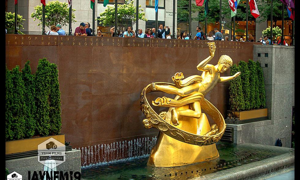 Rockefeller Center Post Card