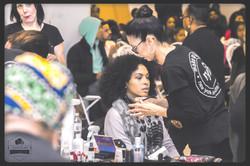 Behind the scenes makeup Kings plaza BKNYFW-2