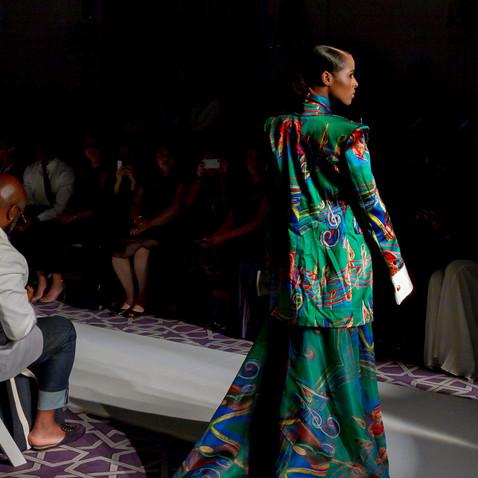 FGNYFW S-S2020 Day #2 Miss Haiti Runway