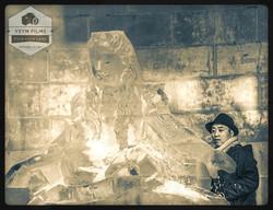Okamoto Studio Alice In Wonderland Ice focus Sculpture