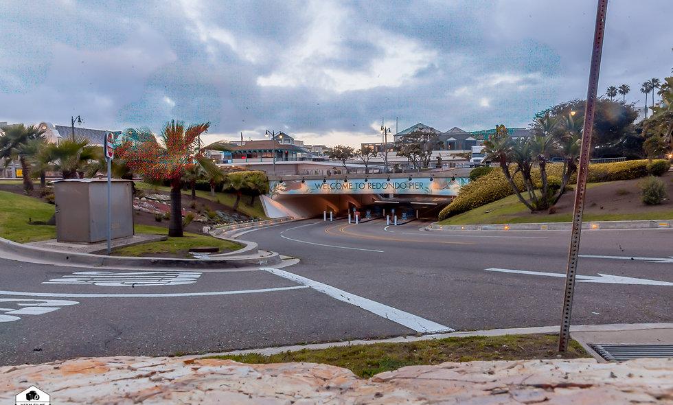 LA Redondo Pier Entrance ....Depth of Field Collection