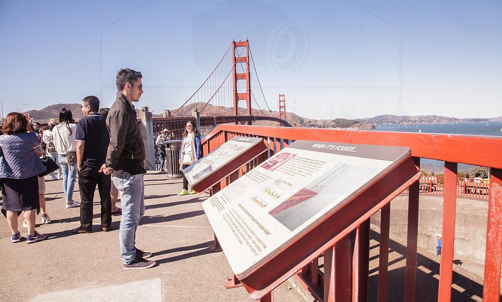 24 x 36 size portrait...Golden Gate Bridge, San Francisco