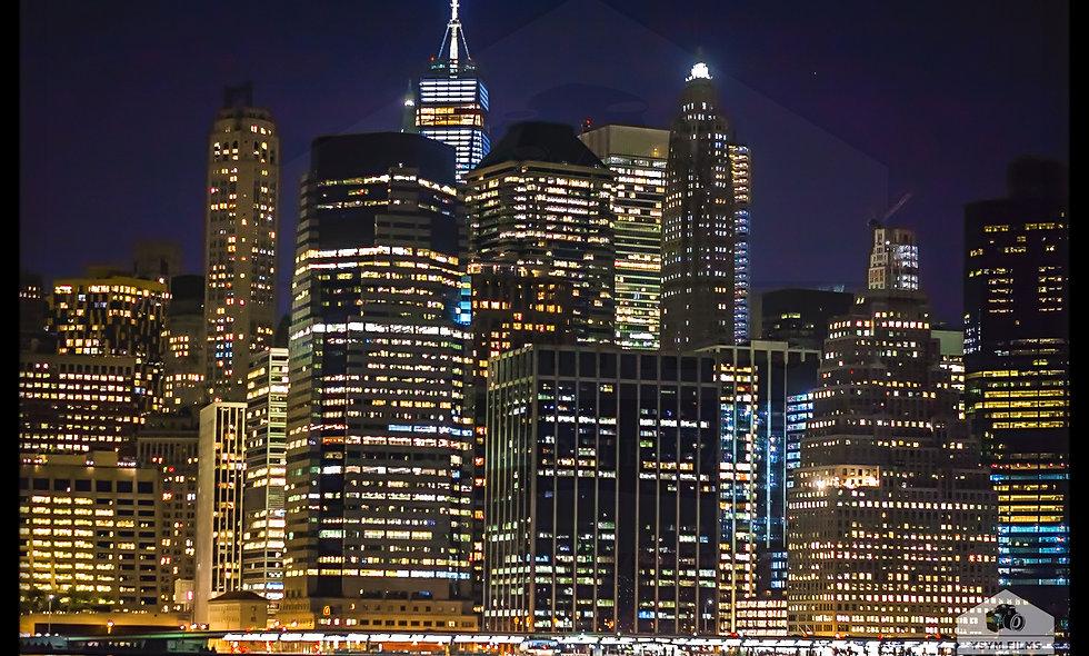 NYC Freedom Tower Skyline portrait