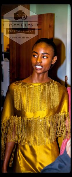 Gabriela Hearst Fashion show models before runway-2