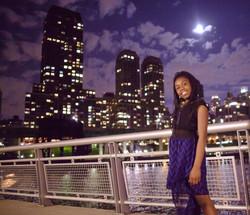 Tamia trump night pic_