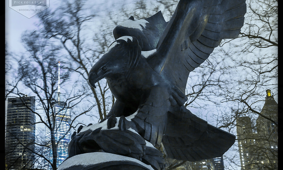 World War 2 East Coast Memorial Eagle