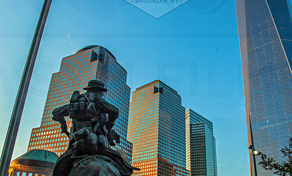 24 x 36 The America Response Monument by the Freedom Tower