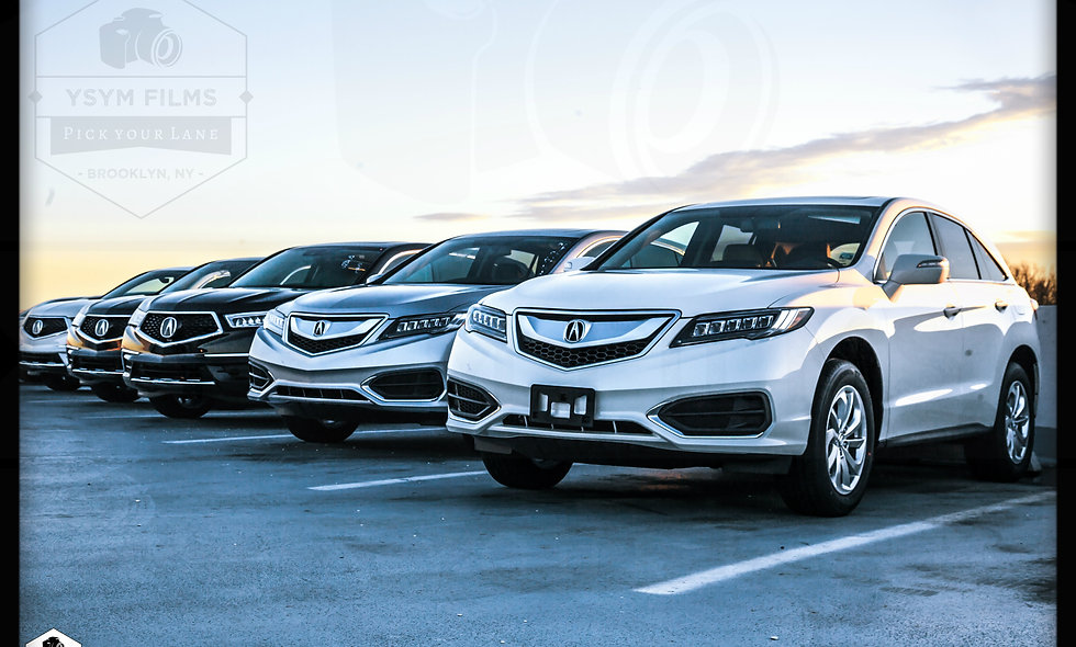 Acura Inventory front line...
