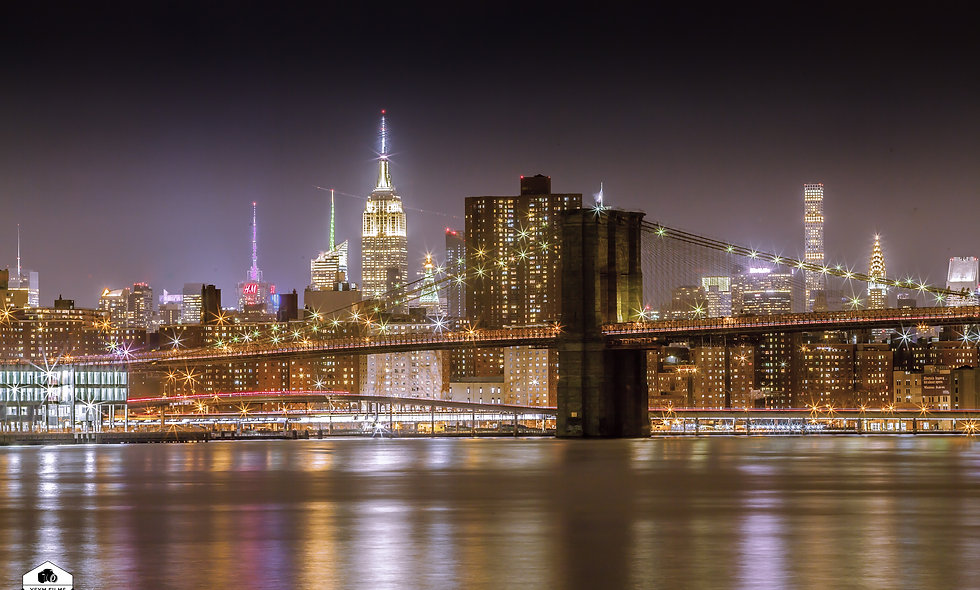 20 x 30 Brooklyn Bridge & The Empire State Building