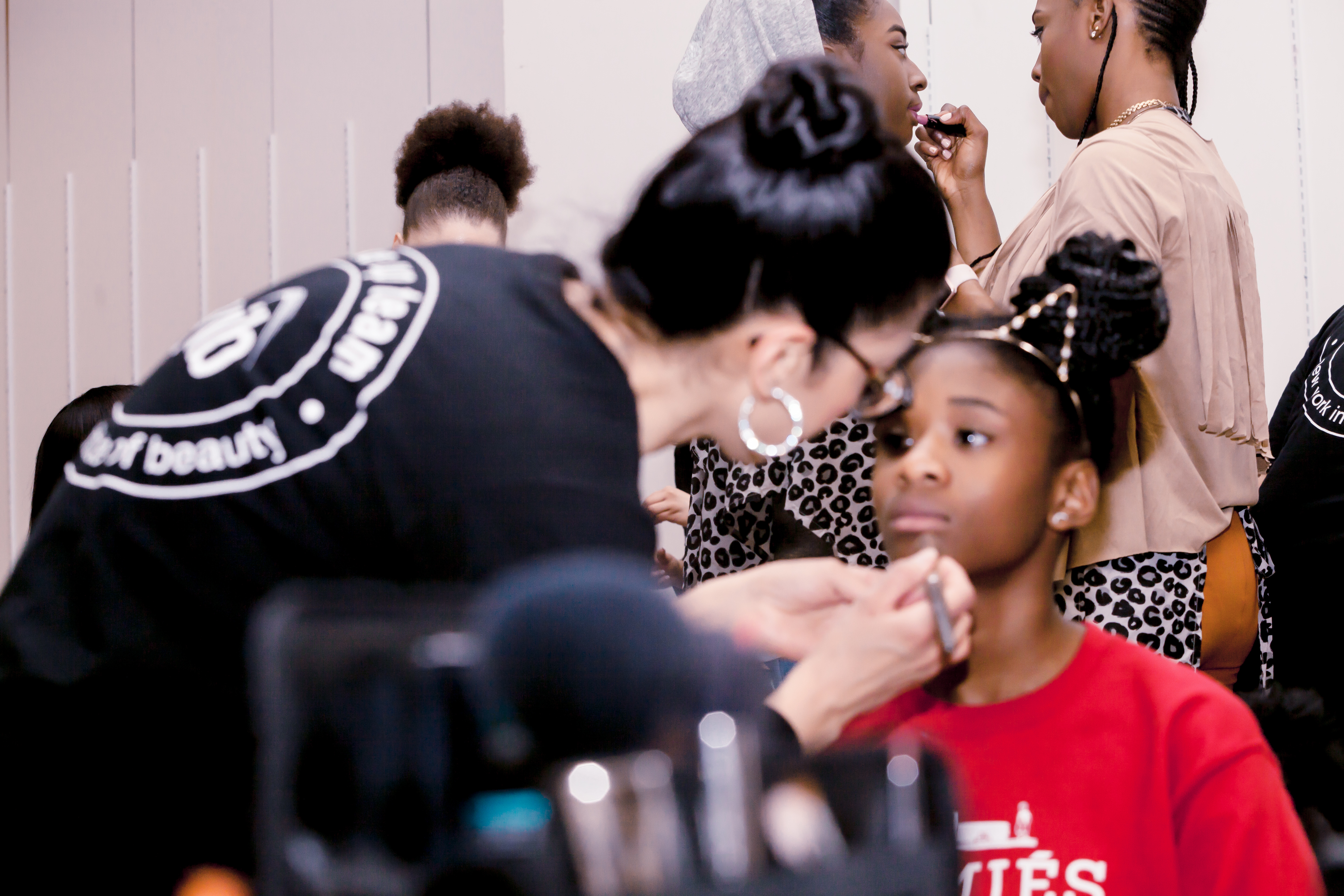 Part 4 Behind the scenes makeup Kings plaza BKNYFW-38