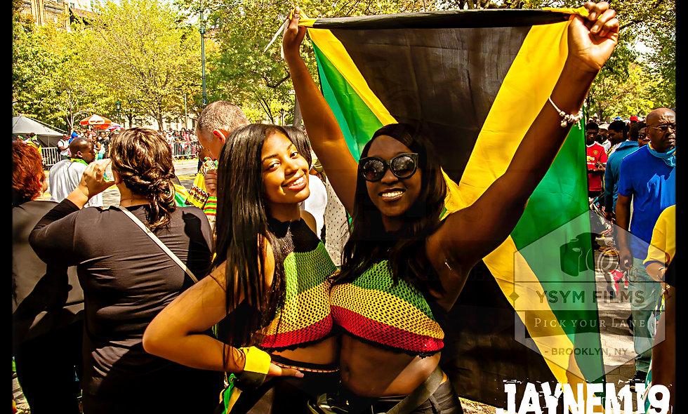 Jamaican Pride, post card