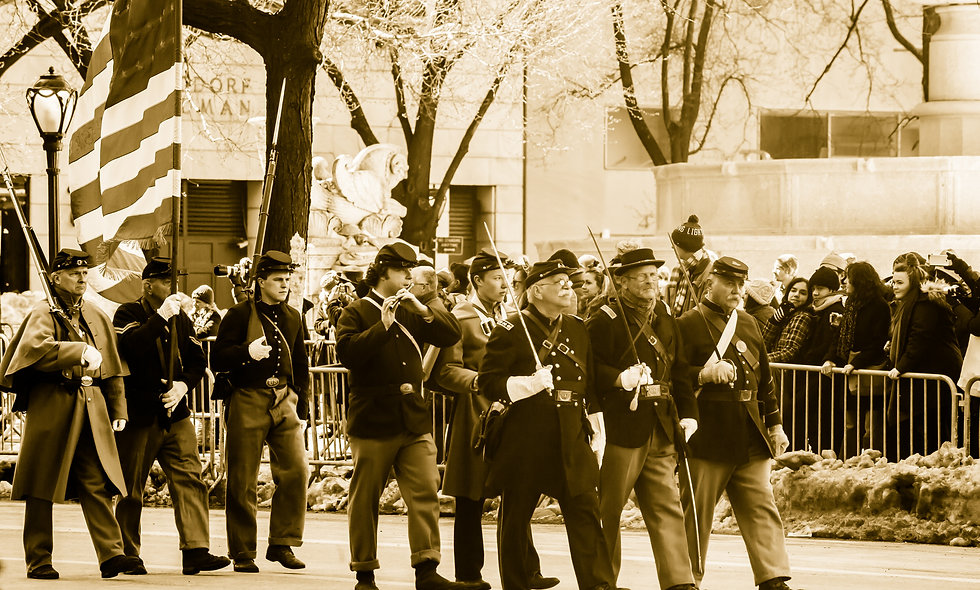 St. Patrick Day Parade, New York's Irish Brigade