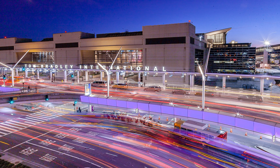 """LAX Airport - """"Day in the life of an airport."""""""