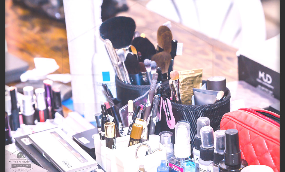 """Lipstick & Eye Liner "" . Stock photo. 20 x 30 portrait"