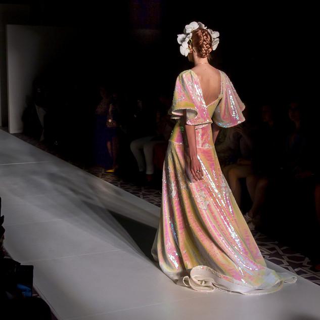 Irina Shabayeva - Red head Bridal NYFW a