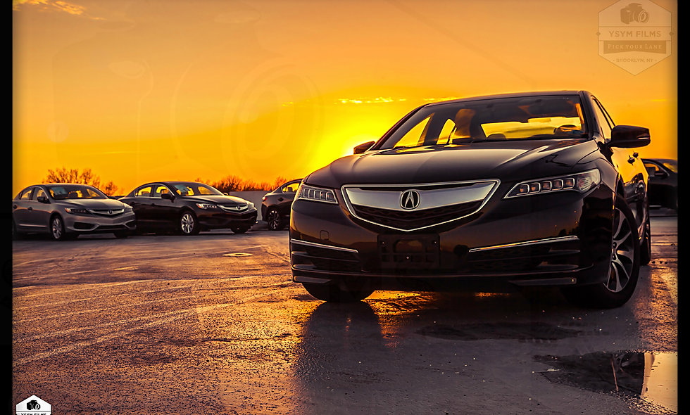 Acura TLX Sunset...