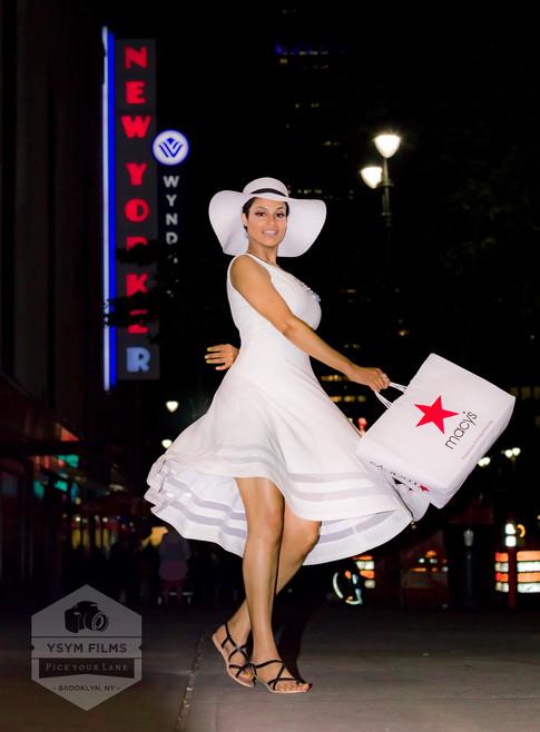 Rosa Macy's Twirl Calvin Klein Dress.jpg