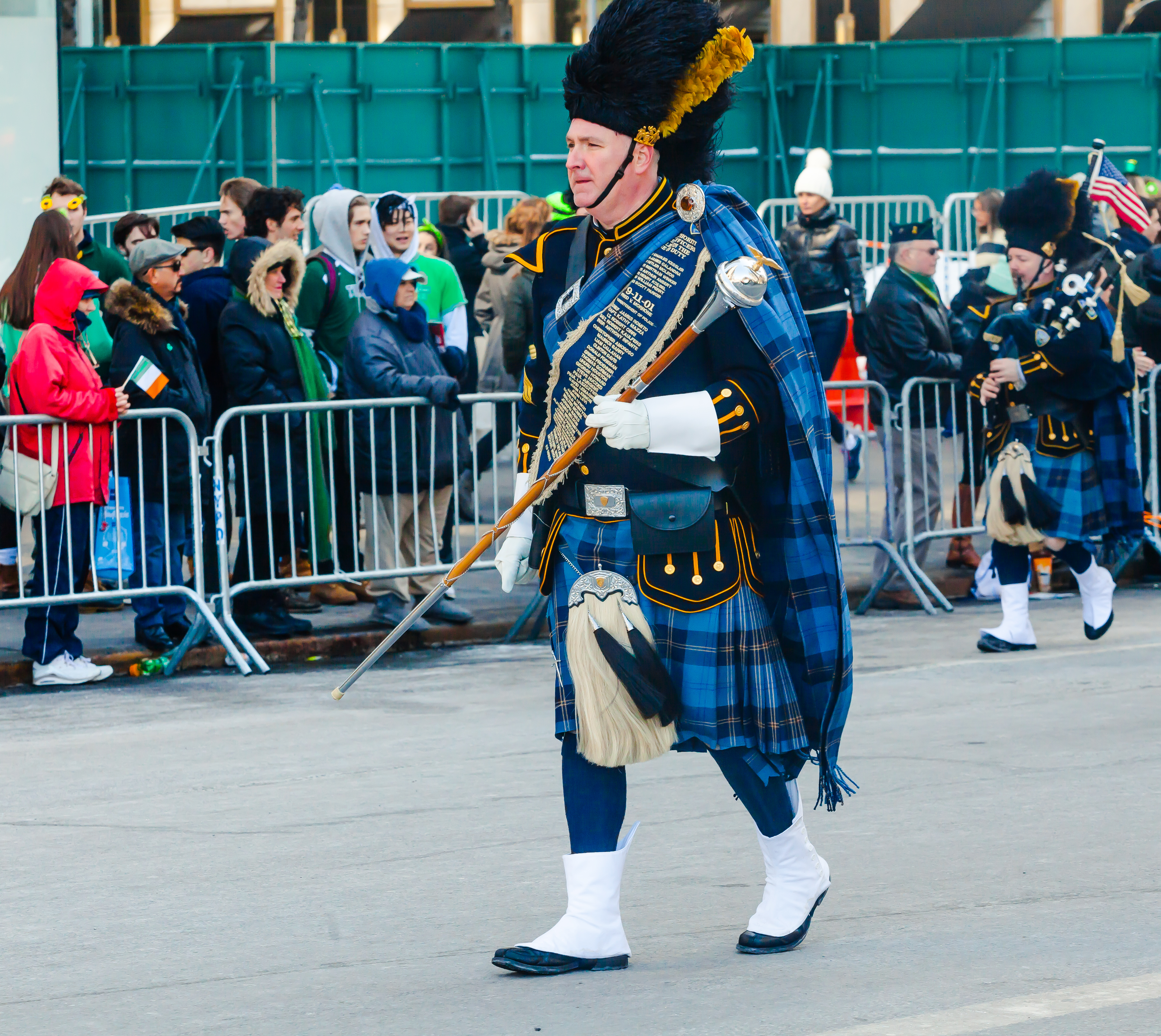 St. Patti detailed Irish uniform photos