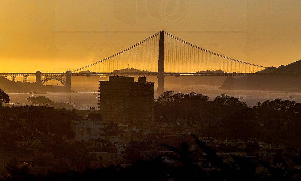 24 x 36 size portrait...San Francisco Golden Gate Bridge