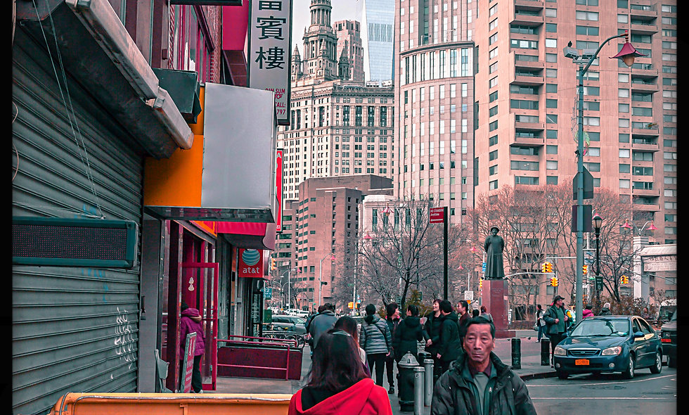 China Town & Freedom Tower....NYC.  Post cards pack of 20