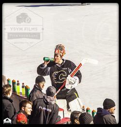 Calgary Flames Pro Goalie Brian Elliott-12