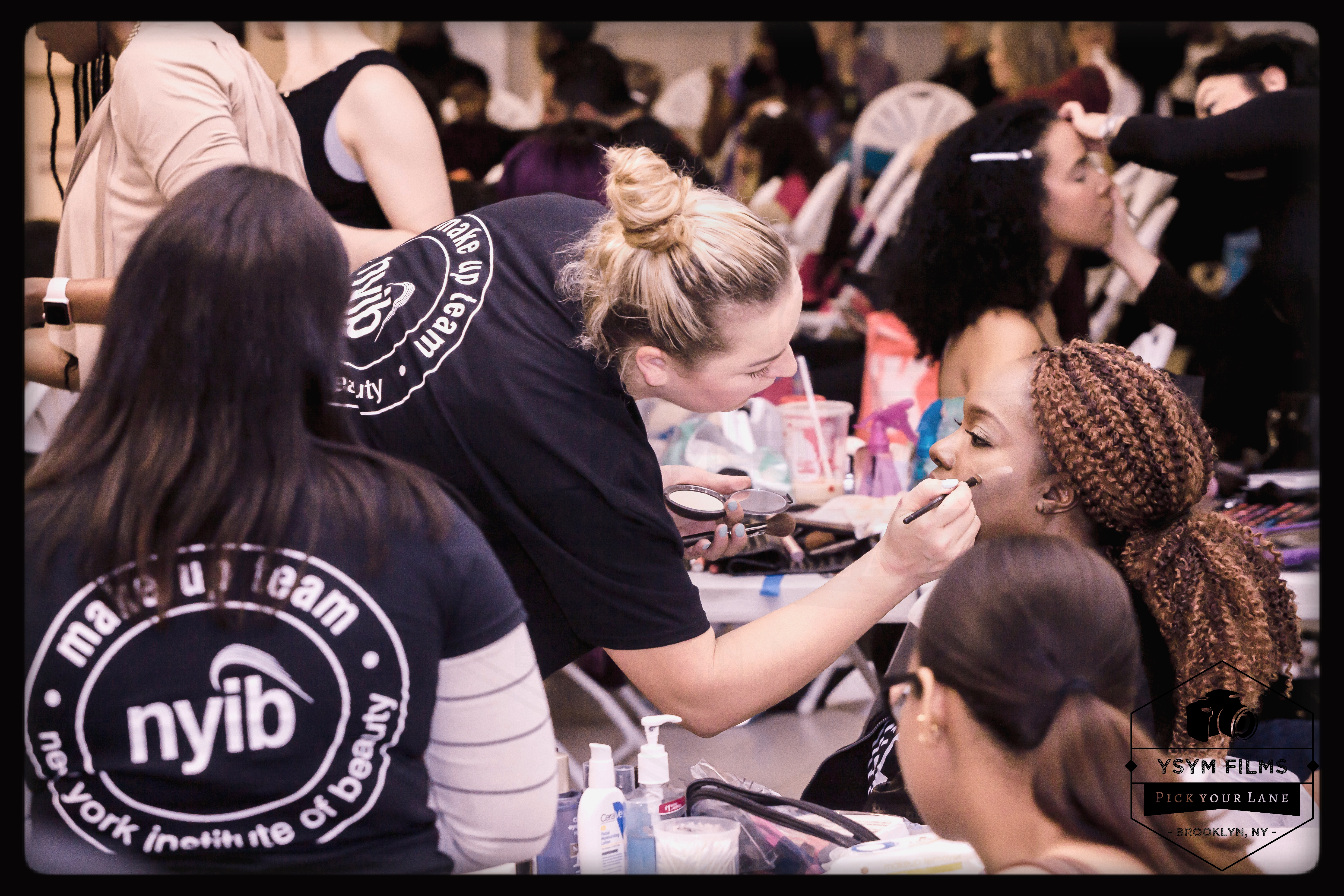 Part 4 Behind the scenes makeup Kings plaza BKNYFW-29