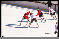 Calgary Flames Pro Scrimmage game-3