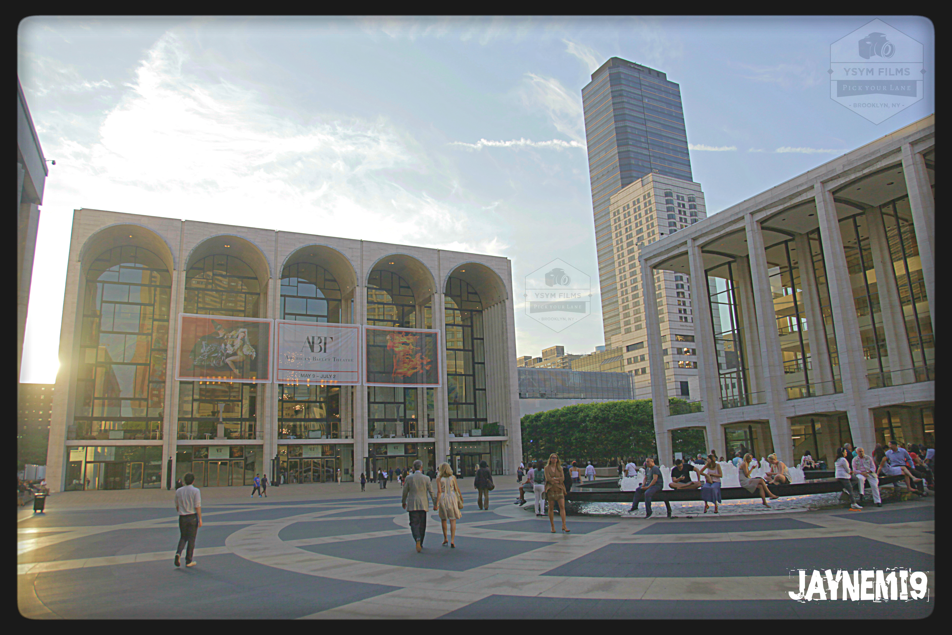 Lincoln Center day shot