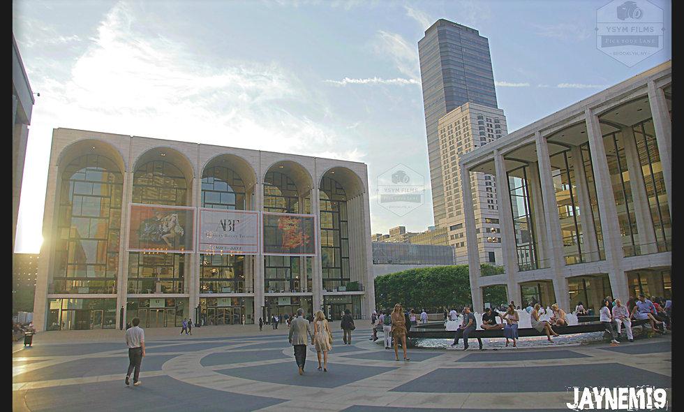 NYC Lincoln Center portrait