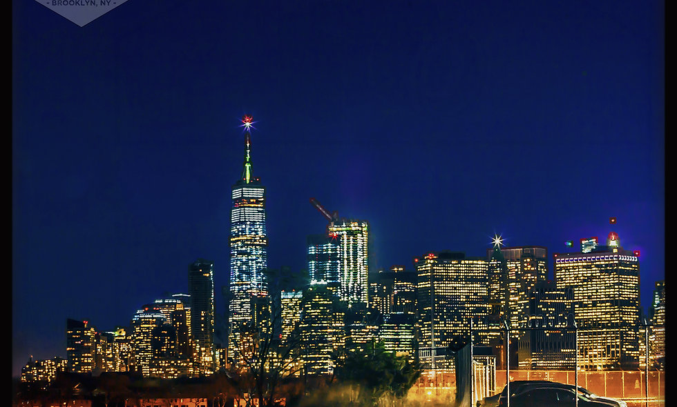 Freedom Tower, perspective from Red Hook Brooklyn.... County of Kings.