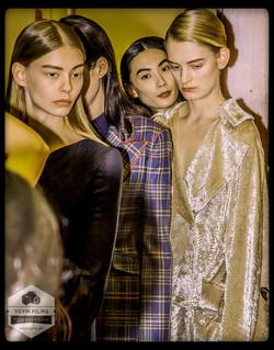 Designer Gabriel Hearst NYFW Models