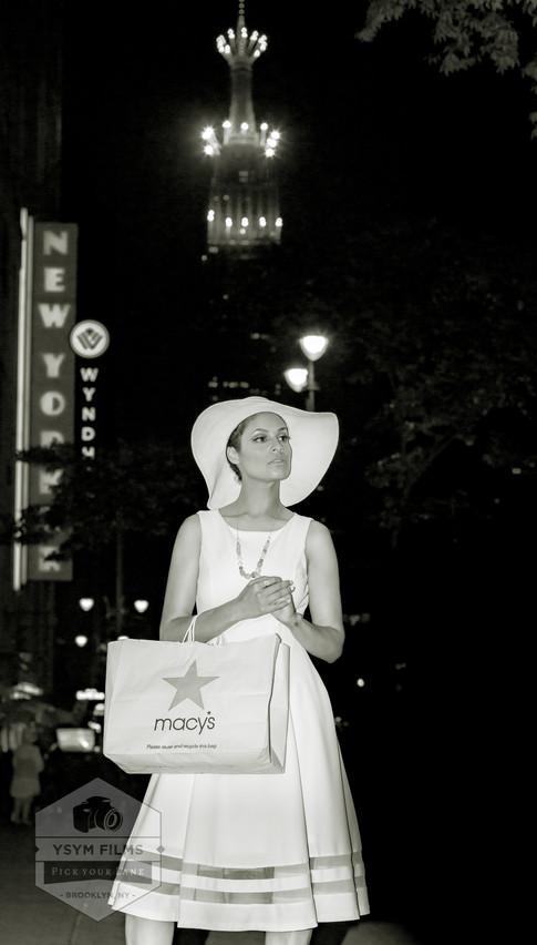 Calvin Clein Black White Macy's Photo.jp