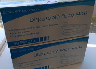 木 学 マスクを頂きました