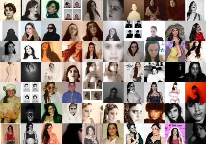 Les portraits d'identité