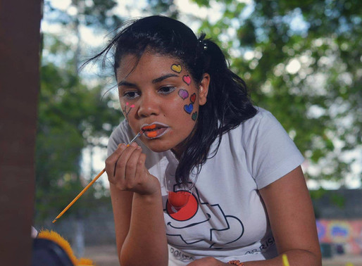 Gilmara: voluntária promove alegrias e enfrenta tristezas