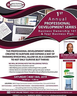 1st annual professional development seri