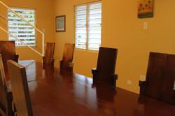 Hacienda's dining room
