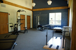 NVTRC physical therapy room