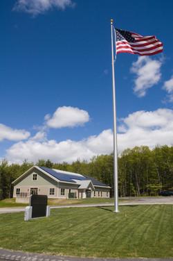 NVTRC with flag