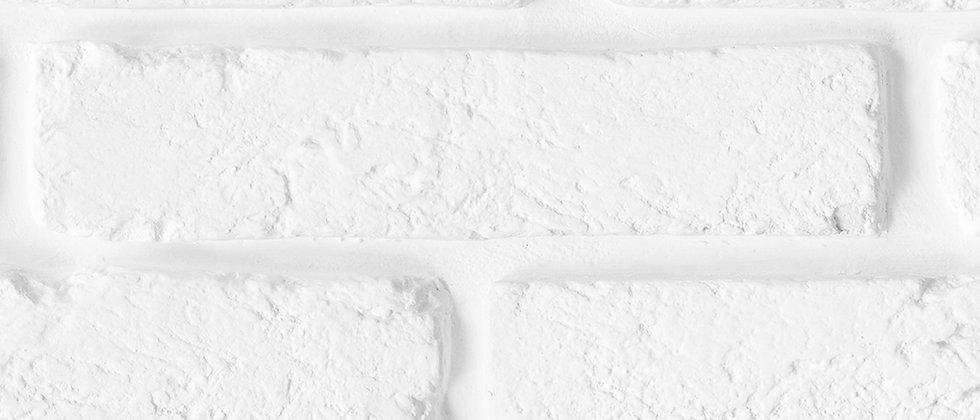 Панель пластиковая Кирпич белый  347