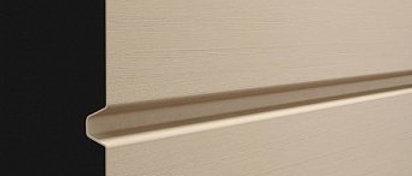 Сайдинг панель  профилированный брус D6S Крем-Брюле